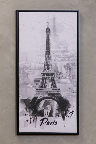"16"" x 32"" Noir Wall Decor - Paris"