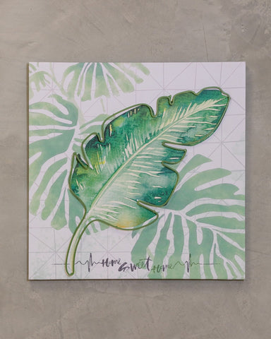 "16"" x 20"" Naturale Wall Decor - Tropical Mix"