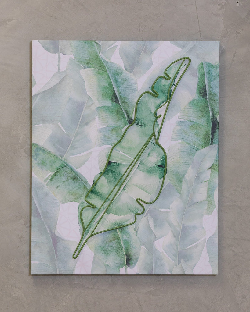 "16"" x 20"" Naturale Wall Decor - Plantain Leaves Too"