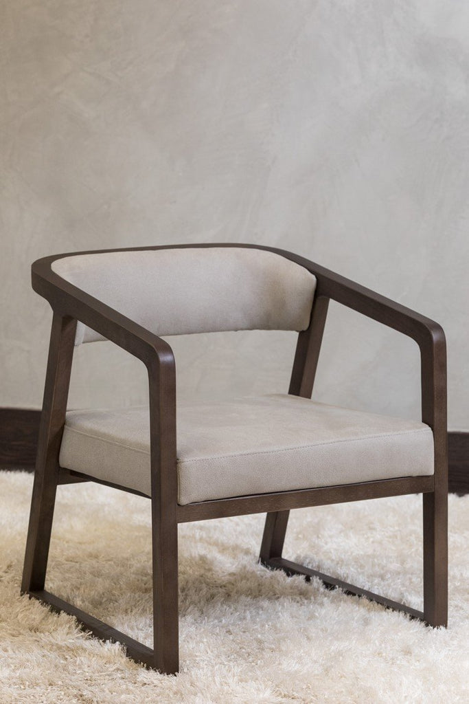 "28"" Lulu Arm Chair -  Smoke"