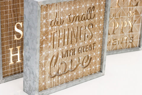 "10"" Great Love Light Box - Battery Operated"