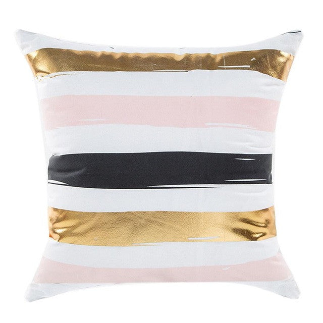 "18"" x 18"" Lines Pillow Cover - Velvety Collection (Exclusively Online)"