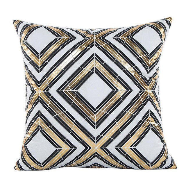 "18"" x 18"" Diamonds Pillow Cover - Velvety Collection (Exclusively Online)"
