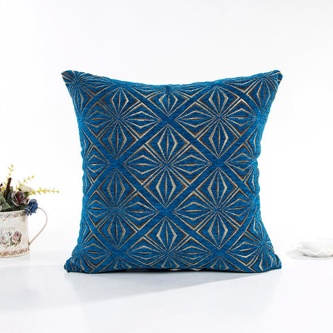 "17"" x 17"" Vintage Pillow Cover - Blue (Exclusively Online)"