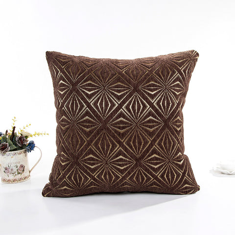 "17"" x 17"" Vintage Pillow Cover - Brown (Exclusively Online)"