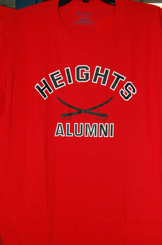 Champion Red Alumni Short Sleeve Shirt