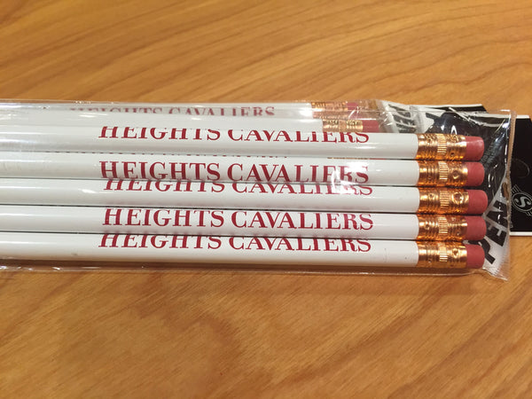 Pencil - 5 Pack White
