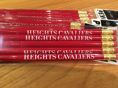 Pencil - 5 Pack Red