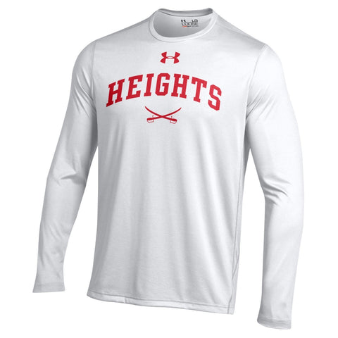 Under Armour Long Sleeve Tech Shirt - White