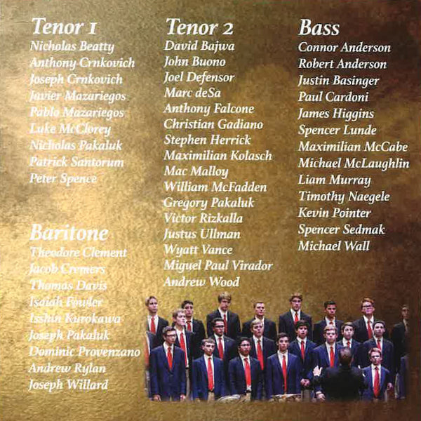 Men's Chorus CD - Rise Up, O Men of God