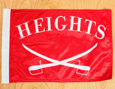 Heights Alumni Flag