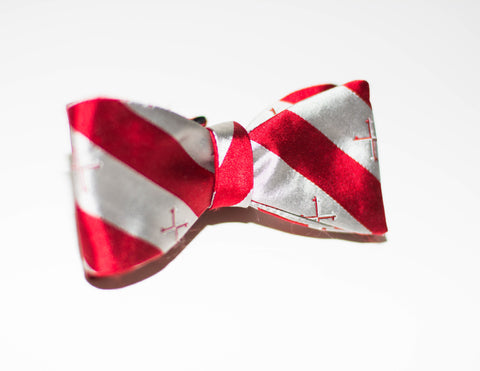 Red Cross Bow Tie