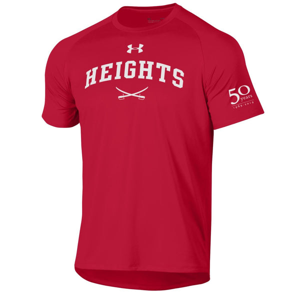 Under Armour Tech Short Sleeve Tee - 50th Anniversary - Red