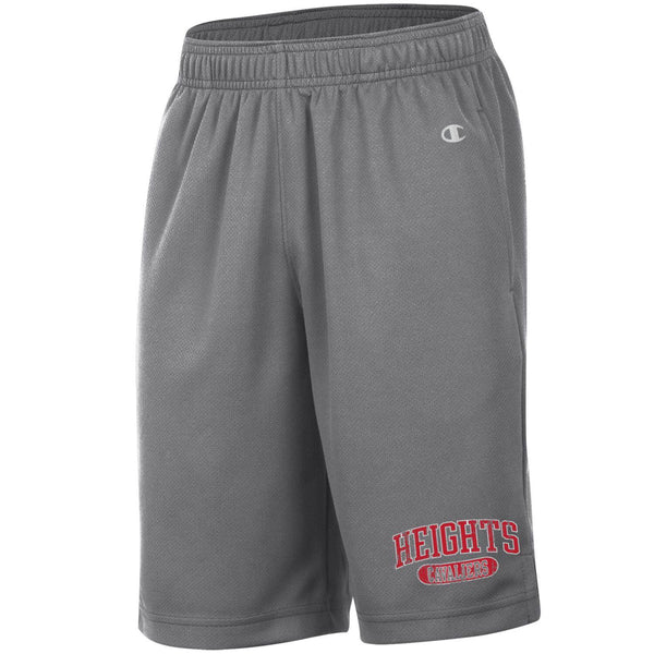 Champion Youth Mesh Shorts - Charcoal Gray