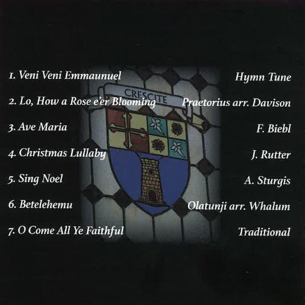 Men's Chorus CD - A Heights Christmas