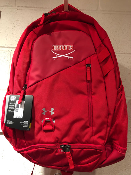 Under Armour Hustle 4.0 Backpack - Red