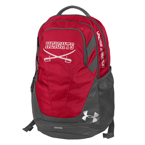 Under Armour Hustle 3.0 Backpack - Red/Gray