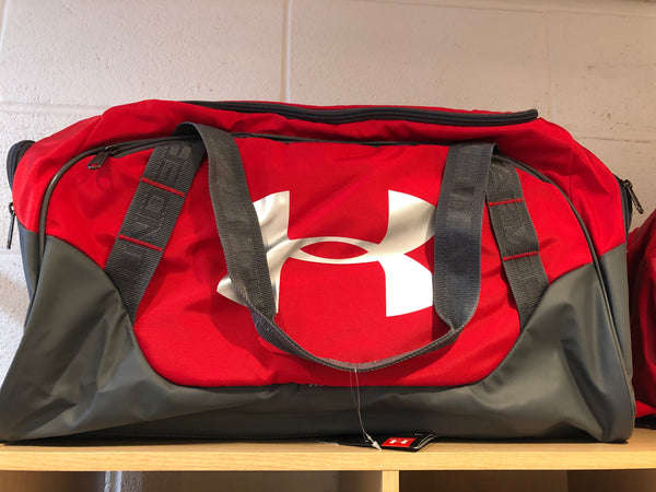 Under Armour Undeniable 3.0 Duffel - Red/Gray
