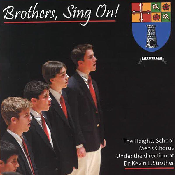 Men's Chorus CD - Brothers, Sing On!