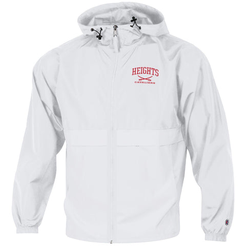 Champion Full Zip Lightweight Jacket - White