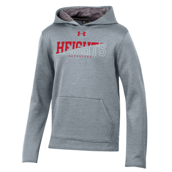 Under Armour Youth ArmourFleece Hoodie - Gray