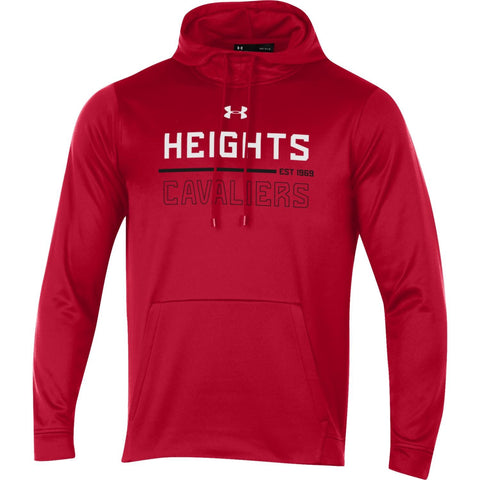 Under Armour ArmourFleece Hoodie - Red