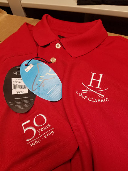 Golf Classic Greg Norman Polo - 50th Anniversary - Red