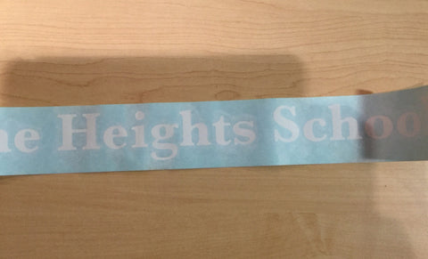 Decal - The Heights School