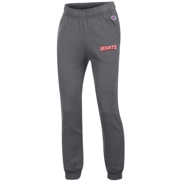 Champion Youth Powerblend Jogger Sweatpant - Charcoal Gray