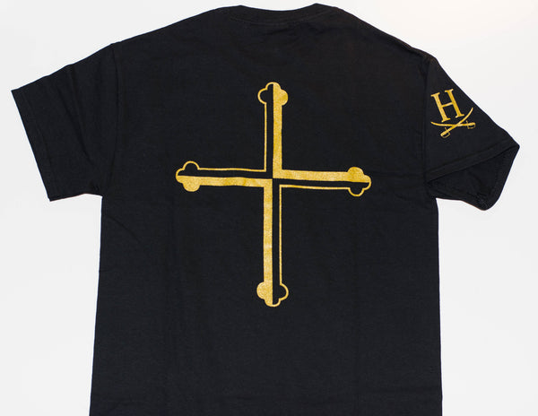 Gold Cross Shirt