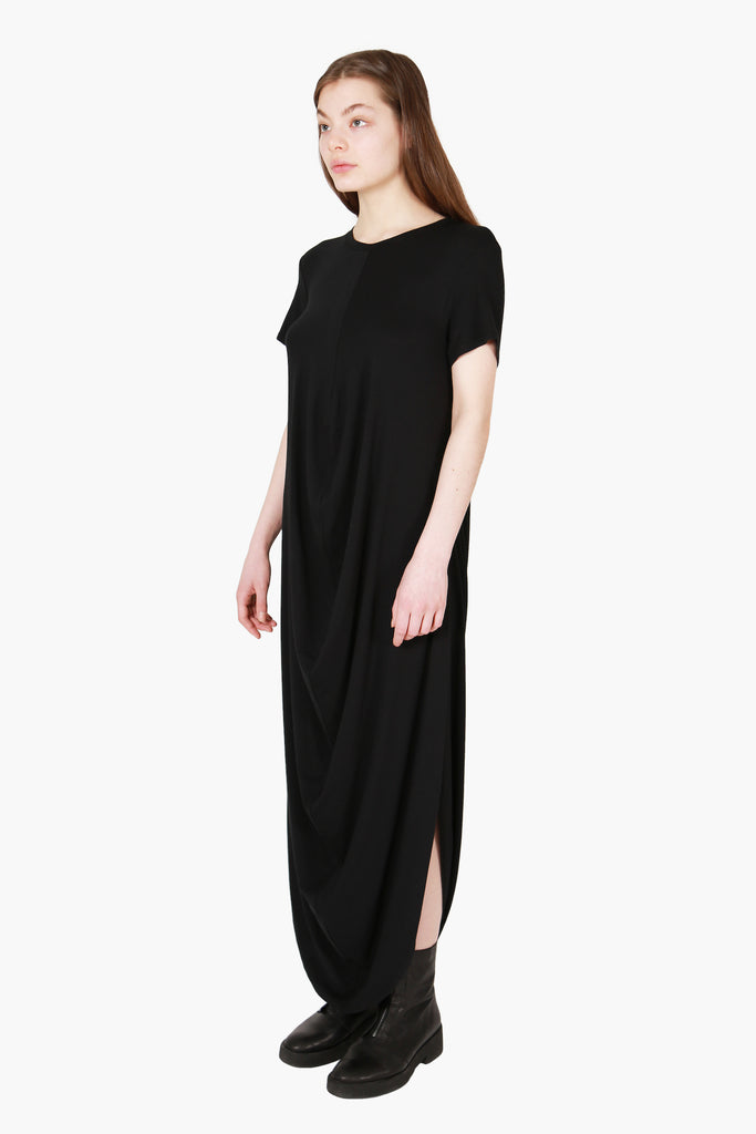 Draped T-Shirt Dress