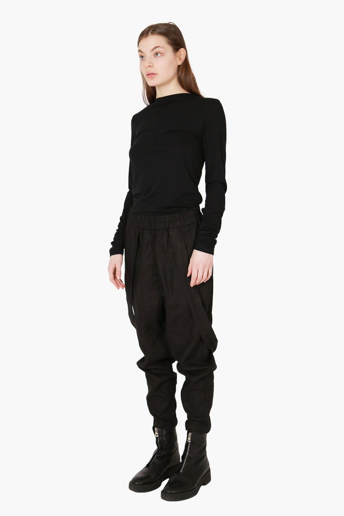 Linen Pants With Straps
