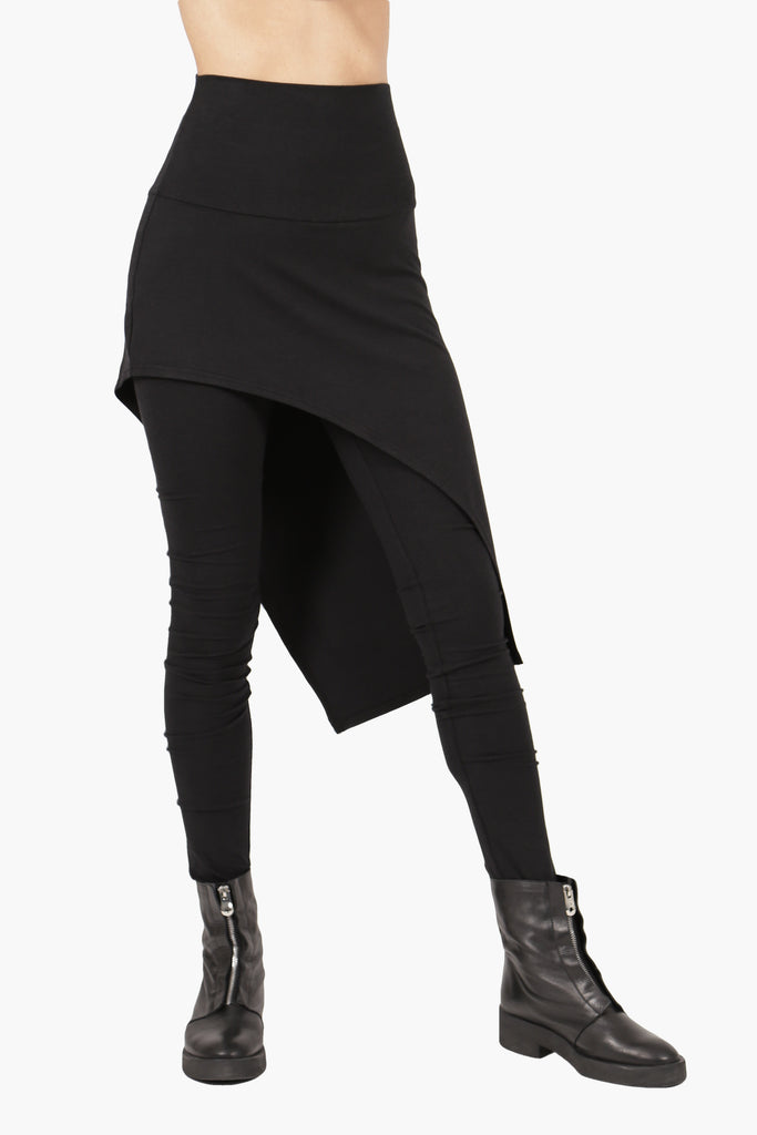 Leggings With Curved Skirt