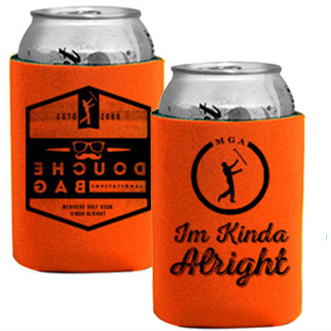 Douche Bag Invitational Koozie