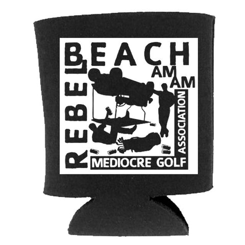 Rebel Beach Am-Am Koozie