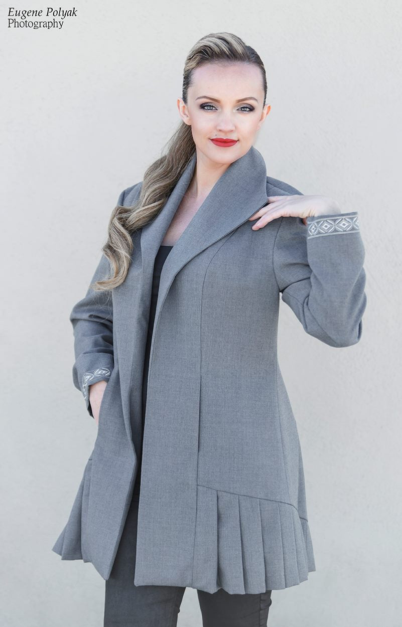 Light Wool Gray Jacket