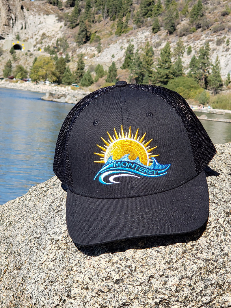 Ultimate Trucker Cap with Monterey Embroidered Design