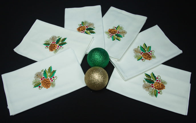 Christmas Napkins set of 6