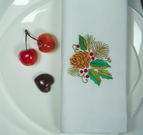 Christmas Napkins set of 4