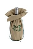 Present an unique beige wine gift bag from Zelenco to your father or grandfather to tell them how special they are to you.
