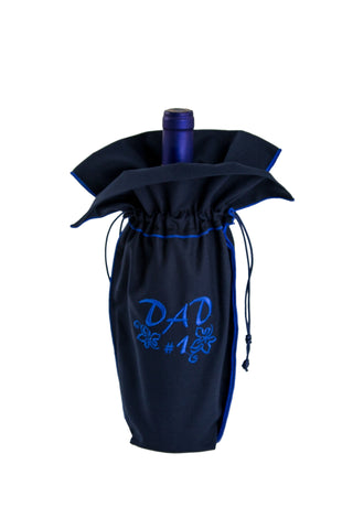 Present an unique navy wine gift bag from Zelenco to your father or grandfather to tell them how special they are to you.