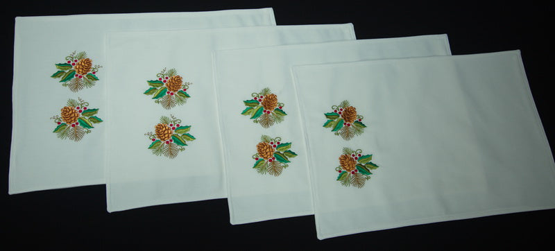 Christmas Place Mat set of 4