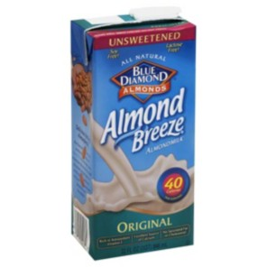 Almond Breeze Unsweetened Original Almond Milk