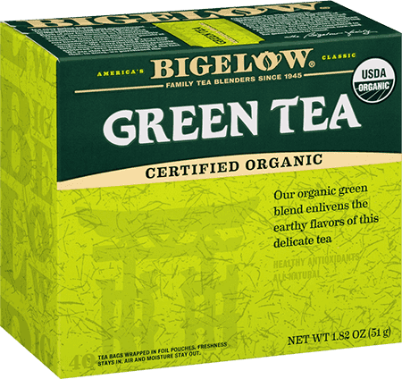Bigelow Organic Green Tea - 40 bags