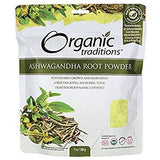 Organic Traditions Ashwagandha Root Powder Certified Organic -  7 oz