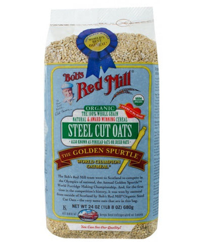 Bob's Red Mill Organic Steel Cut Oats - 680g