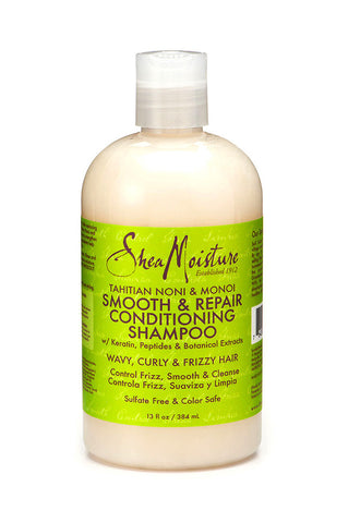 Shea Moisture Tahitian Noni & Monoi Smooth & Repair Conditioning Shampoo