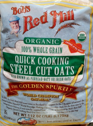 Bob's Red Mill Quick Cooking Steel Cut Oats - 3.2kg