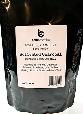 Coconut Activated Charcoal Powder - Food Grade