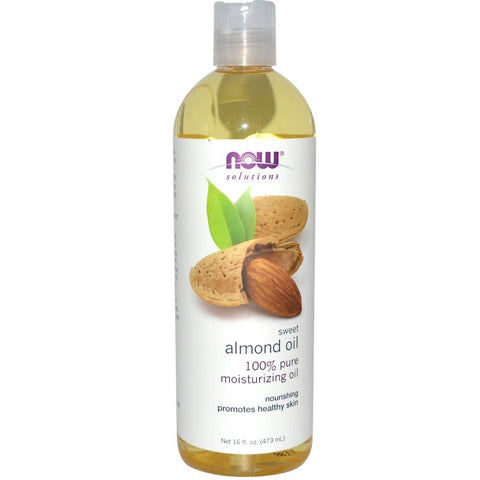 Now Foods Sweet Almond Oil - 16 oz